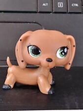 Littlest LPS Dachshund Dog European MONOPOLY NO# POLKA DOTS 1 SNOWFLAKE EYE vthf