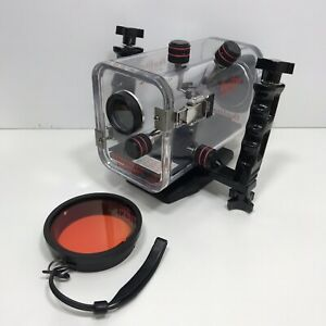 Ikelite Underwater Camera Housing For Sony DCR-TRV20 Video Camera Scuba Weighted