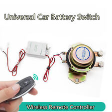 12V Car Battery Switch Remote Control Disconnect Latching Relay Solenoid Valve