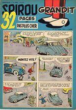 SPIROU 914  ANNEE 1955