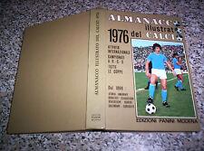 ALMANACCO ILLUSTRATO DEL CALCIO 1976 PANINI Q.PERFETTO NO RIZZOLI-CARCANO-ALBUM