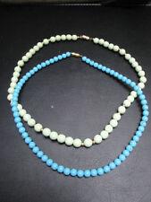 Collier Fantaisie - Lot de 2 Colliers perles Bois