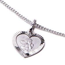 Schutzengel Kinderkette echt Silber Kette mit Anhänger Gravur NEU Taufe Geschenk