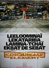 LE CINQUIEME ELEMENT Preventive Affiche Cinéma / Movie Poster LUC BESSON