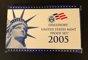 2005 S  United States Mint Proof Set With State Quarters