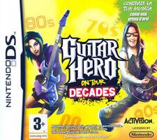 GUITAR HERO DECADES ON TOUR DS NINTENDO NUOVO ITALIANO 3DS 2DS + OMAGGIO