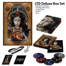 MOONSPELL LISBOA UNDER THE SPELL 3CD DVD BLUE RAY box set w/ flag patch pendant