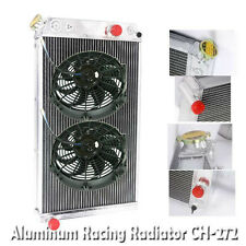 """3 Row Performance RADIATOR+10"""" Fans for 82-02 Chevy S10 V8 Conversion ONLY"""