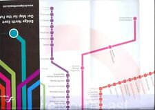 Bridge North East England culture Underground subway style journey planner map