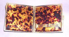 cigarette card case  antique vintage retro art deco style by J. G. Ltd