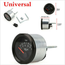 2In 52mm Universal Car Truck Pointer Oil Pressure Gauge Agricultural Machinery