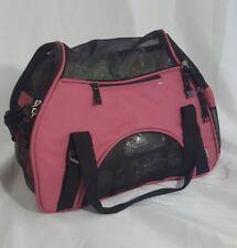 Bergan Comfort Pet Cat Dog Carrier Airline Approved Sm Pink