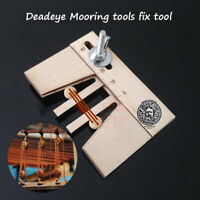 Dead eyes Mooring tools fix tool for wood ship model kit 1 PCS/packet