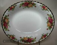 ROYAL ALBERT china OLD COUNTRY ROSES pattern Oval Vegetable Serving Bowl 9""