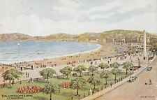 Llandudno Esplanade & Little  Orme - A R Quinton * 2853 Posted.1951