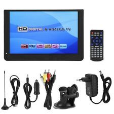 "Mini 12"" Digital Fernseher 16:9 LED DVB-T/T2 1080P TV Analoge Fernsehen für Auto"