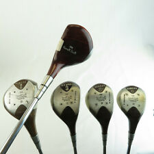 Vintage Kennith Smith Wood Set 1 1A 3 4 5 - Solidized Driver Steel Shaft