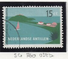 Dutch Antillen 1957 Early Issue Fine Used 15c. 167278