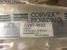 1967 Chevelle SS LH Rear Wheel Well Molding Part # CV07-W22 GM part # 4229721