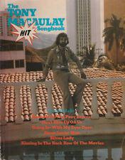 THE TONY MACAULEY HIT SONGBOOK     UK 1978 Music Book