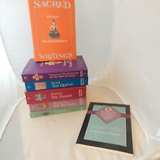New ListingSacred Writings 6 Volumes,Hinduism,Judaism, Buddhism,Christianity + Reader Guide