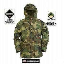 US Army ECWCS Cold Wet Weather Parka Jacke WCP woodland camouflage XLarge Long