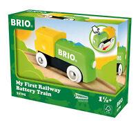 33705 Brio Ferrovia in legno mio primo Brio Treno a batteria NUOVO conf. orig.