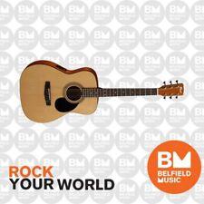 Cort AF510E Acoustic Electric Guitar Folk Size Natural Satin w/ Pickup AF-510E