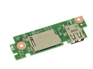 Dell Inspiron 15 / 17 USB Port SD Card Reader IO Circuit Board (R1F2R)