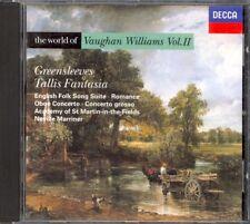 VAUGHAN WILLIAMS - Tallis Fantasia / Greensleeves / Oboe Conc - Neville MARRINER