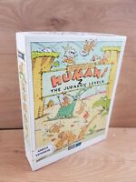 Humans 2 The Jurassic Levels Gametek Game for the Amiga Big Box Tested Working