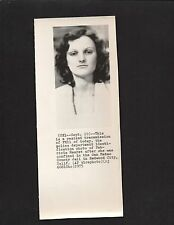 1975 Press Photograph Patricia Hearst In San Mateo County Jail Redwood City*3408