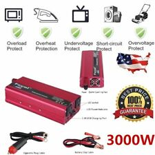 6000W Peak Solar Power Inverter 12V DC 110V AC Modified Sine Wave Converter VV