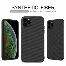 For iPhone 12 11 Pro XS Max 100% Genuine NILLKIN Carbon Fiber Hybrid Case Cover