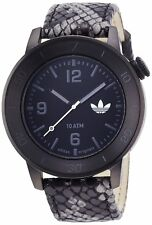 Adidas Men's ADH3044 Manchester Black Leather Watch