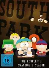 SOUTH PARK-STAFFEL 20  2 DVD NEU
