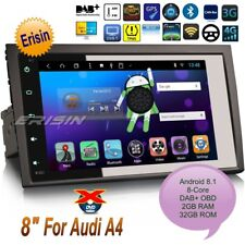 "Android 8.0 Audi A4 Car Radio 2002-2007 S4 RS4 DAB+Wifi 3G Navi DVR BT 8""8284GBP"
