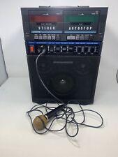 Vintage Singalodeon Portable Stereo Karaoke Model K-5 Double Cassette Players