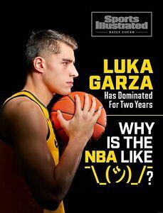 Luka Garza Iowa Hawkeyes Sports Illustrated Cover Photo - select size