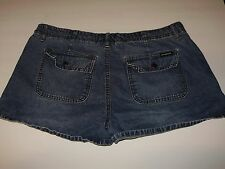 Aeropostale Women's Shorts Blue Denim Jean Size 13/14 A20