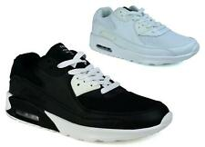 MENS SHOCK ABSORBING  TRAINERS CASUAL LACE GYM WALKING SPORTS SHOES SIZE