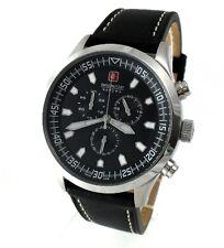 Swiss Military Hanowa 06-4264.04.007 chronograph acero inoxidable cuero PVP * 498,00 €
