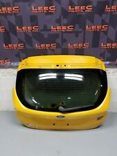 2016 FORD FOCUS ST ECOBOOST 2.0 OEM HATCH TRUNK YELLOW -LOCAL PICK UP ONLY-