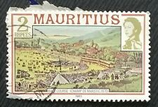 Mauritius stamps - Horse Races on the Champs de Mars (1870)  2 rupee 1983
