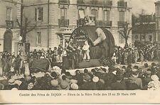 CARTE POSTALE / COMITE DES FETES DE DIJON FETE DE LA MERE FOLLE 1935