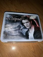 Twilight Eclipse Edward Cullen Metal Lunchbox w/Thermos NEW!