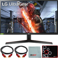 """LG 27"""" UltraGear QHD IPS 144Hz 16:9 G-SYNC HDR Monitor with Mouse Pad Bundle"""