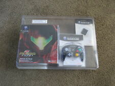 Nintendo GameCube Metroid Prime Bonus Bundle Console System Rare Blister Pack