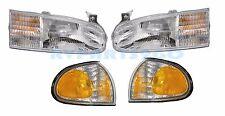 HOLIDAY RAMBLER VACATIONER 1999 2000 HEADLIGHTS CORNER LAMPS RV - 4PCS SET