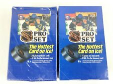 1990 NHL Pro Set Hockey Card Box Sealed - 2 Boxes